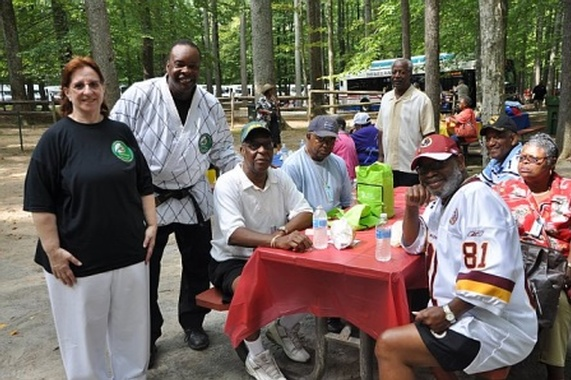 Annual Senior Fun & Fitness Day 2010: Senior Circus Celebration, Watkins Regional Park, Upper Marlbo