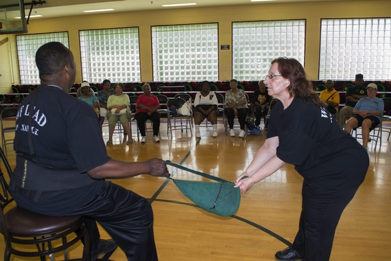 2015 Safety and Self-Defense for Seniors Workshop (June 8, 2015)