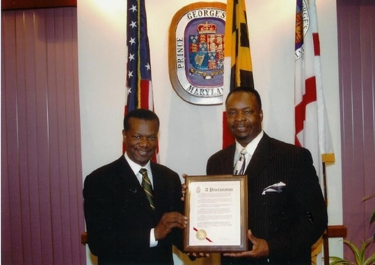 Proclamation from the County Executive, Prince George's County, Maryland, November 28, 2006