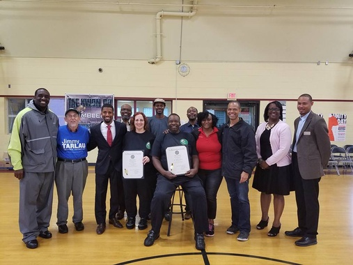 Maryland General Assembly Citations Presented to We Lead By Example, Inc., Honorees, October 1, 2016