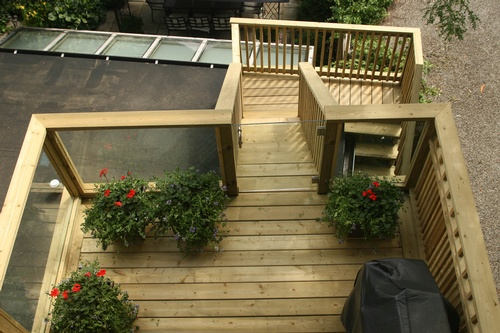 Pressure Treated Deck  (2)