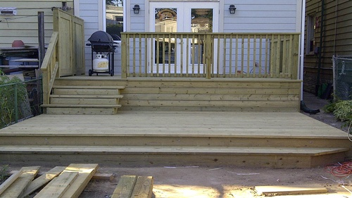 Pressure Treated Deck  (3)