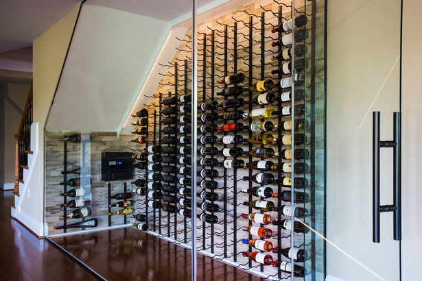 An Enviable Wine Closet