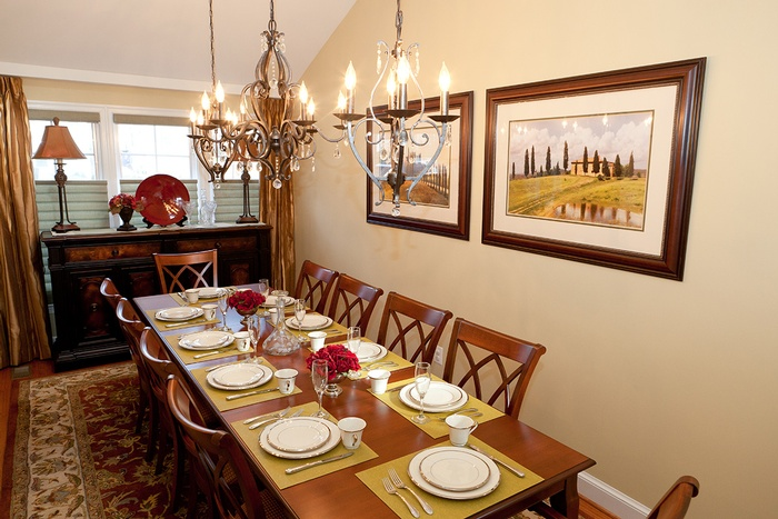 Formal Dining in Arlington