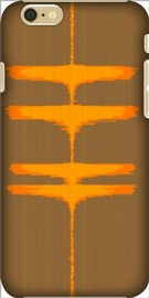 Personalized Orange Crush iPhone case