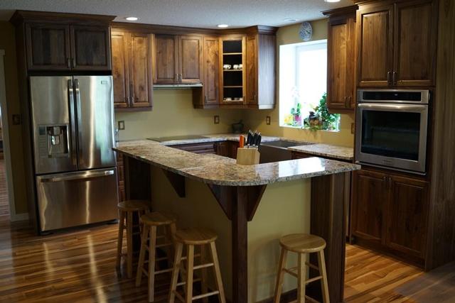 Elite-Kitchens-And-Bathrooms. Walnut Kitchen Elite Kitchens Portfolio