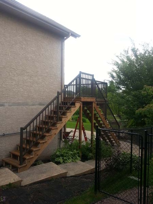 Exterior Decks Installation Services, Winnipeg