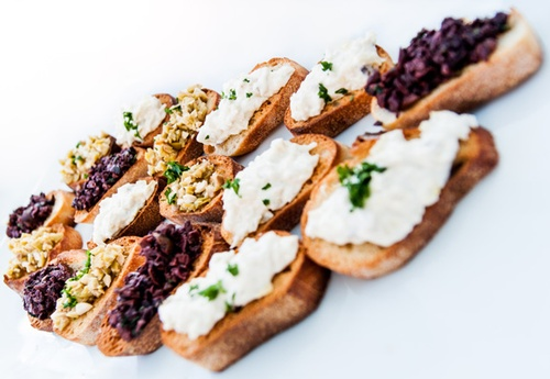 Brushetta with Tapenade