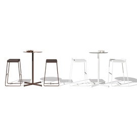 sit backrest barstool-frame-bivaq