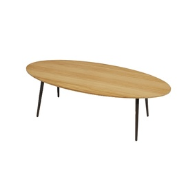 vint low oval table-frame-bivaq