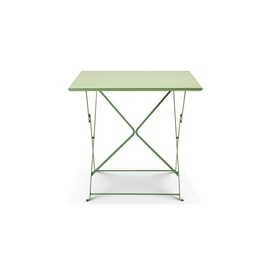 flower square folding table-frame-ethimo