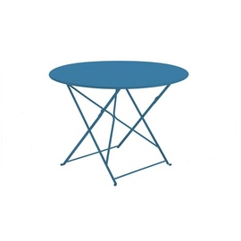 flower 105 round folding table-frame-ethimo