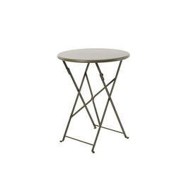 flower 60 round folding table-frame-ethimo