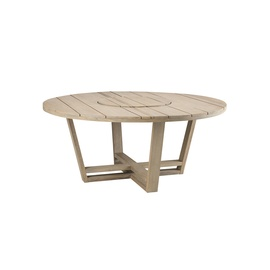 costes round dining table-frame-ethimo