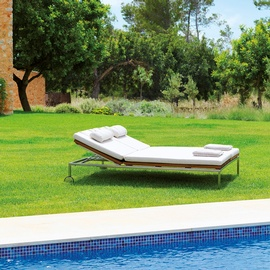 home double sunlounger-frame-viteo