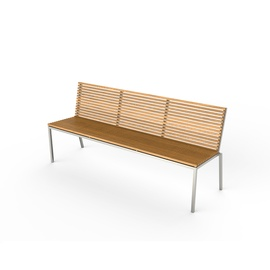 home bench with backrest-frame-viteo