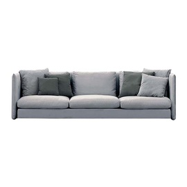 Double 3-Seater Sofa-frame-roda