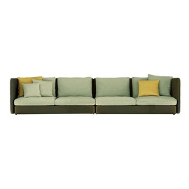 Double 4-Seater Sofa-frame-roda