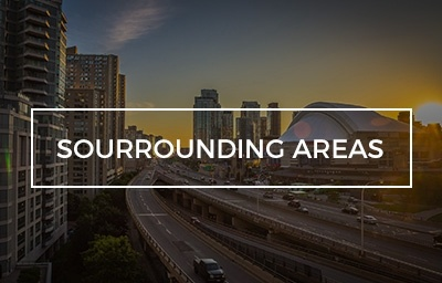 sourrounding areas