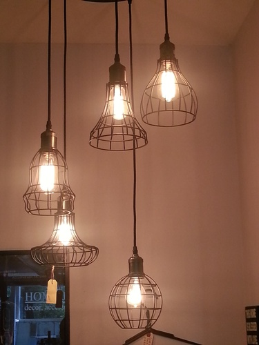 Five Pendant Light