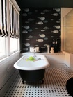 Guest Bathroom Lifestyle commercial interior design  services Beverly Hills Los Angeles santa monica
