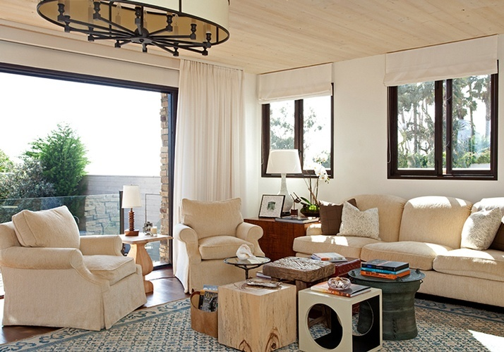 Living Room Beach House santa monica