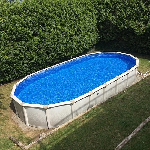 Swimming Pool Installation Service : Above ground swimming pool installation north vancouver