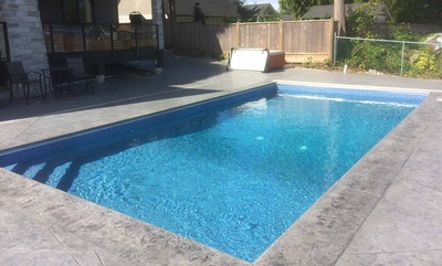 <p>Vinyl Inground Swimming Pool Installation North Vancouver BC</p>