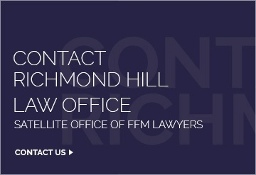 Family Lawyer Richmond Hill Ontario