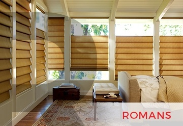 Custom Roman Shades Peachtree City GA