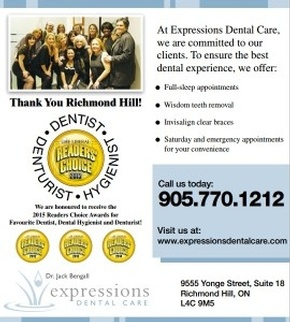 expressions dental care richmond hill