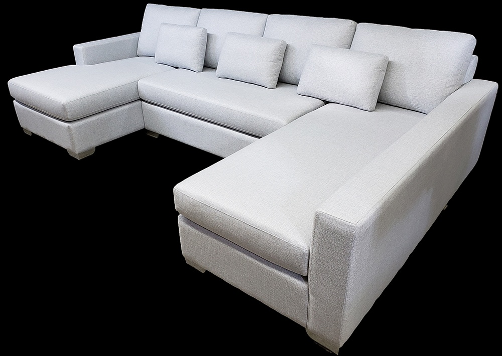 Living Room Sectional Sofa At ViVi Upholstery   Residential Furniture  Manufacturers North York