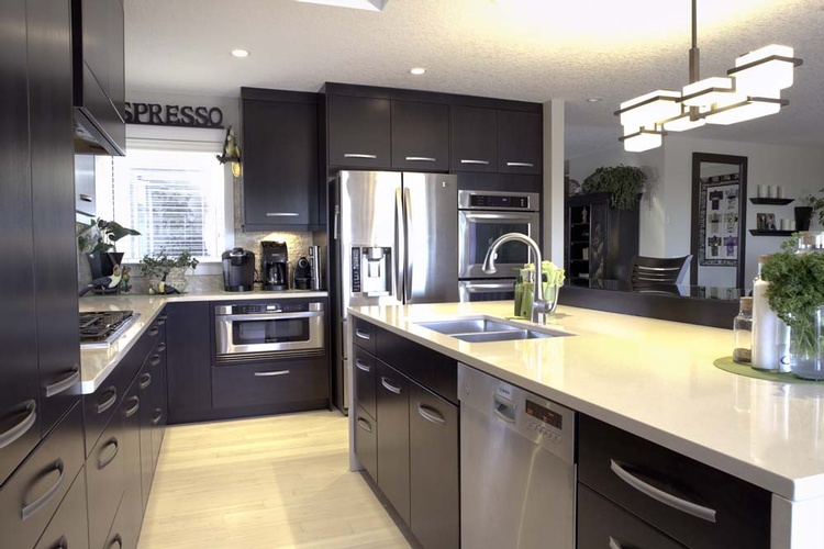 Kitchen Interior Design Home Improvement Services In Calgary Ab