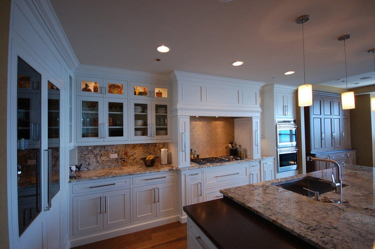 Modern Kitchen Backsplashes Alpharetta by Old Castle Home Design Center