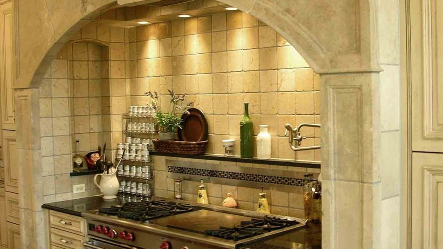 Kitchen Backsplash tiles by Old Castle Home Design Center in Atlanta