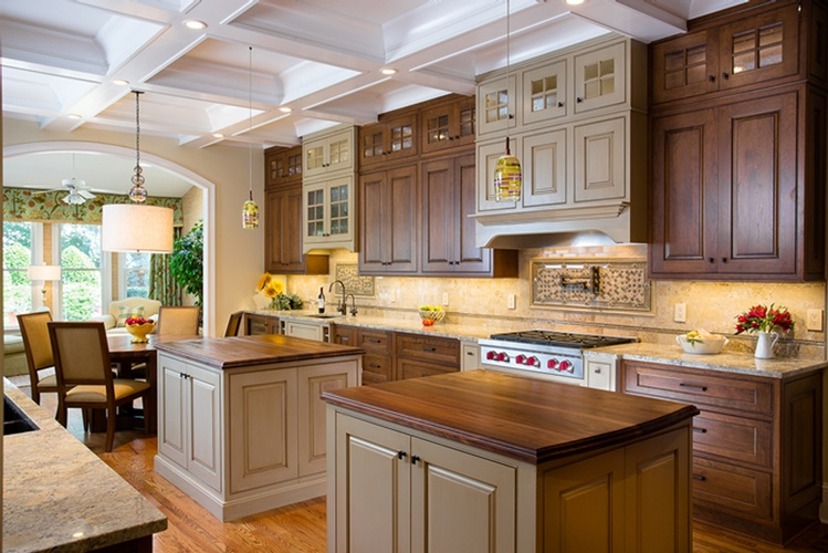 Under Cabinets Kitchen Hood by Old Castle Home Design Center in Atlanta