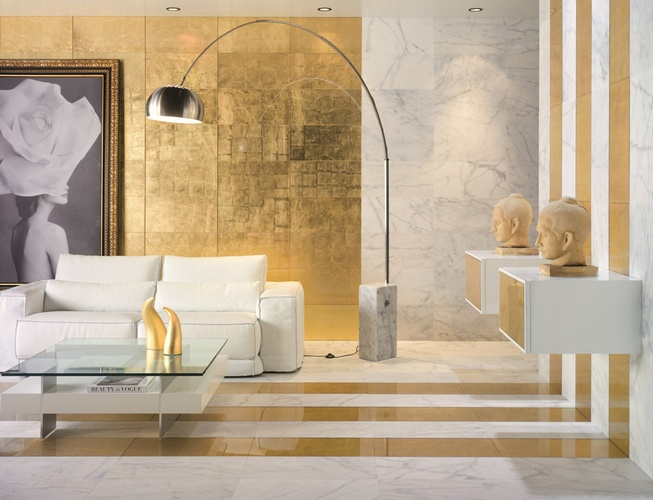 Elegant wall and floor collection of Porcelain Tiles at Old Castle Home Design Center