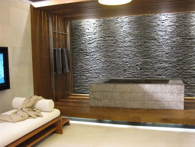 Natural Stone Wall Tiles by Old Castle Home Design Center