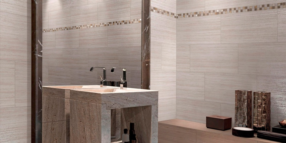 Porcelain Tile Bathroom in Atlanta by Old Castle Home Design Center