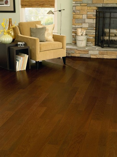 Drawing Room Wood Flooring Services by Old Castle Home Design Center