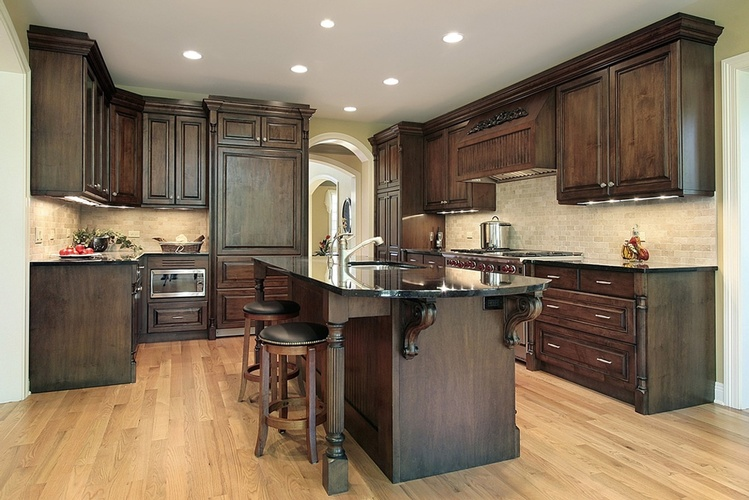 Kitchen Wood Flooring by Old Castle Home Design Center