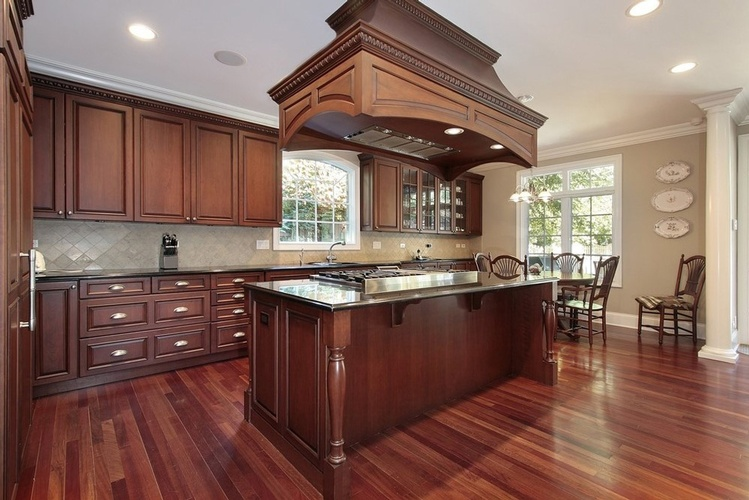 Cherry Hardwood Flooring by Old Castle Home Design Center in Atlanta