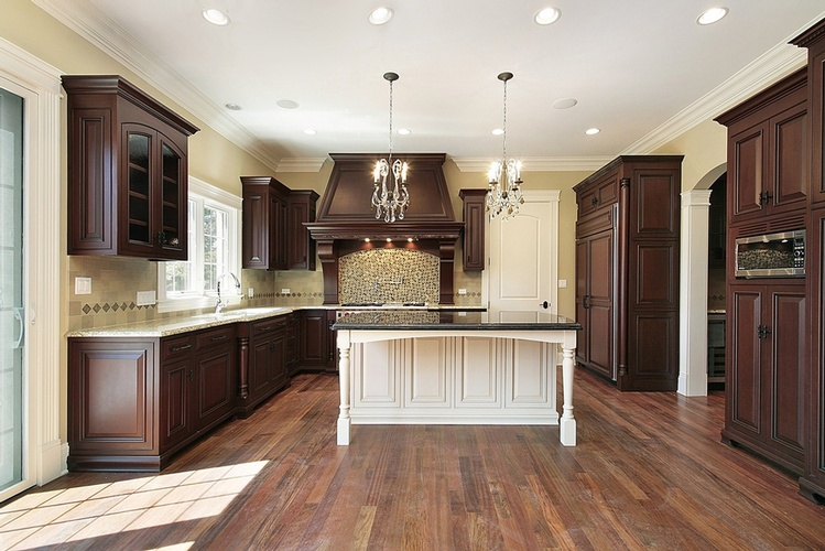 Kitchen Hardwood Flooring Atlanta by Old Castle Home Design Center