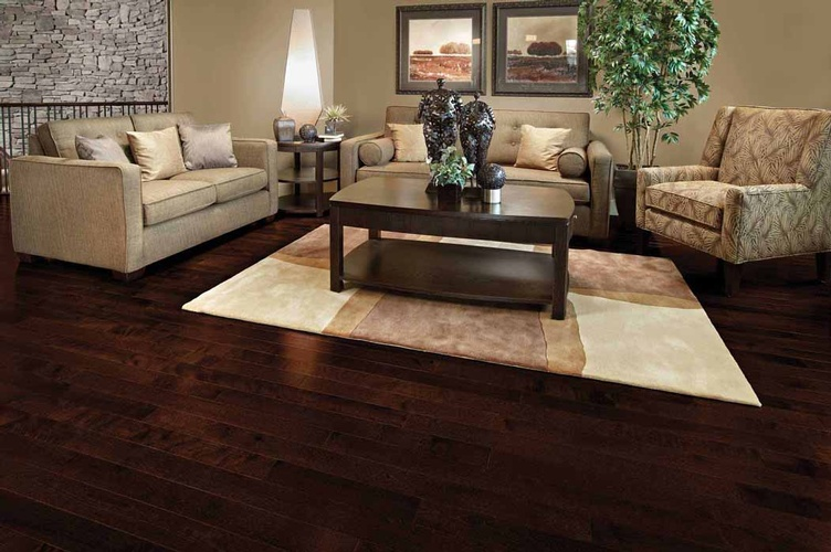 Hickory Hardwood Flooring by Old Castle Home Design Center in Atlanta