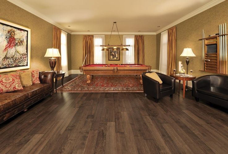 Walnut Unfinished Hardwood Flooring by Old Castle Home Design Center