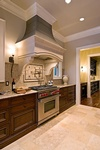 Custom Kitchen Hood Design by Old Castle Home Design Center in Atlanta