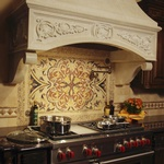 Residential Kitchen Hood Design by Old Castle Home Design Center in Atlanta
