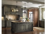 Wood Under Cabinets Kitchen Hood by Old Castle Home Design Center