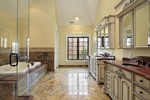 Bathroom Flooring by Old Castle Home Design Center