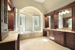 Modern Ceramic Tile Bathroom in Atlanta by Old Castle Home Design Center